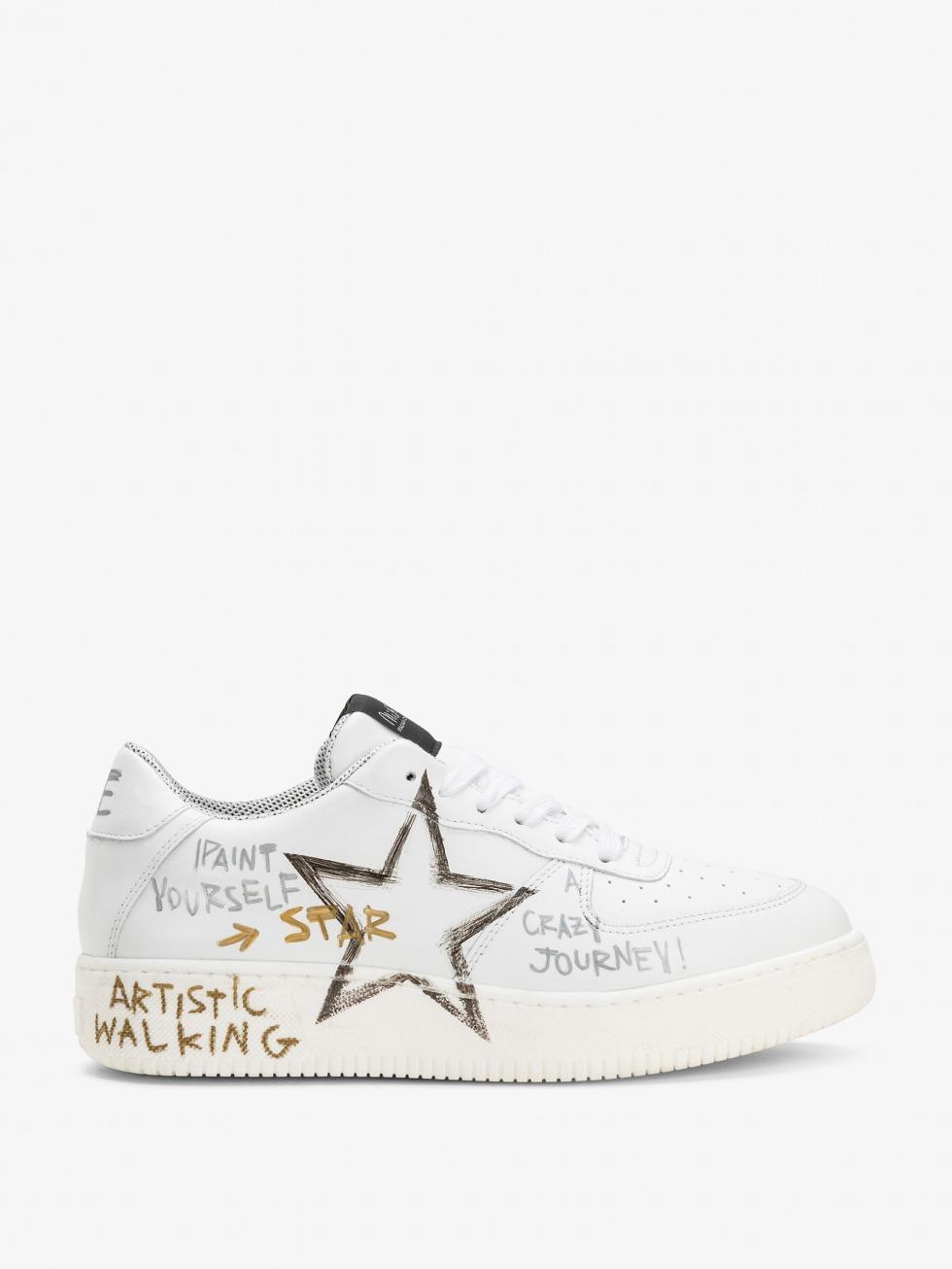 sneakers-bianche-con-stella-manhattan-white-writer