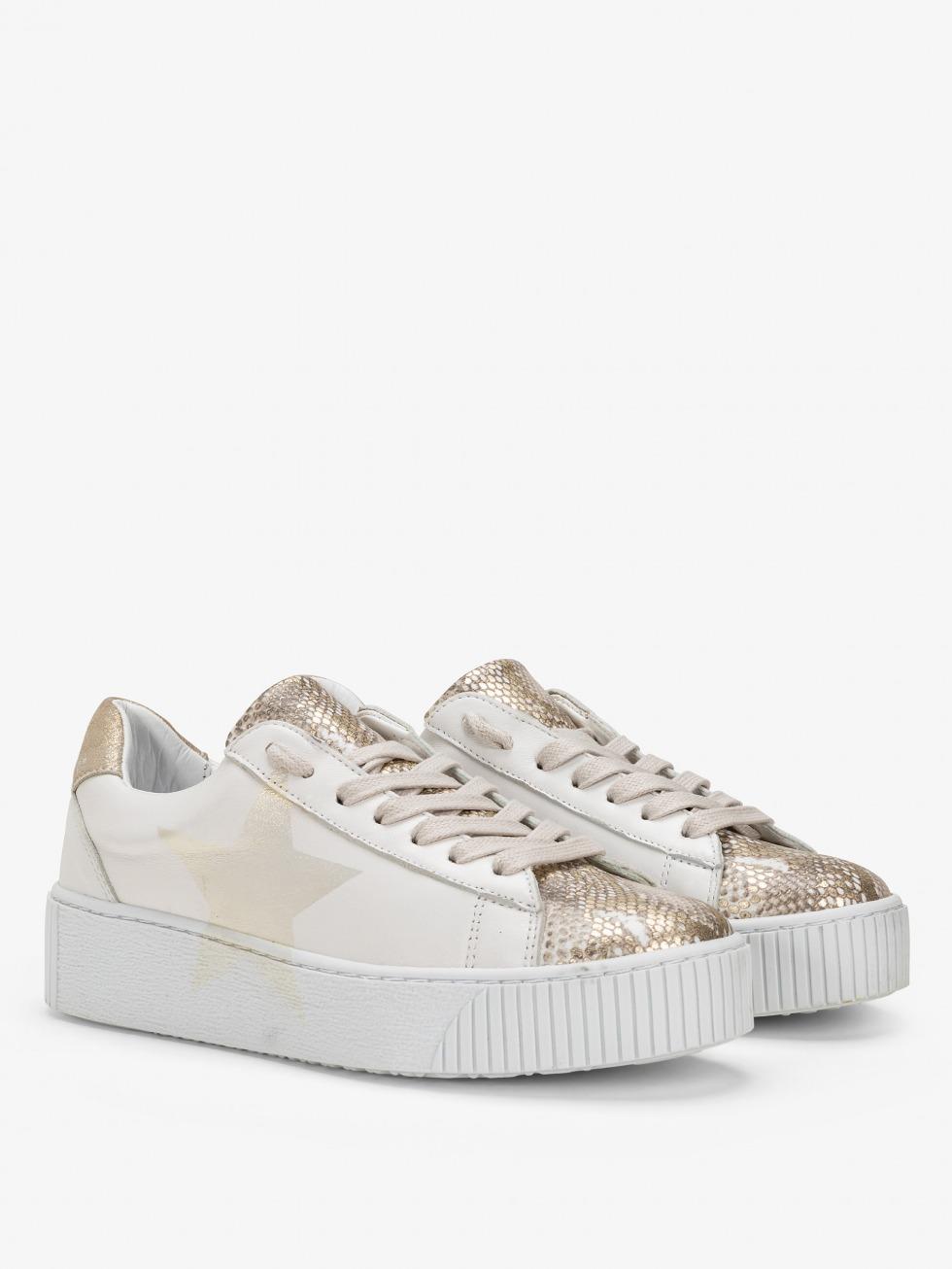 sneakers-bianche-da-donna-cosmopolitan-stella-phyton-gold
